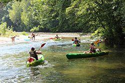 Acces direct à la rivière