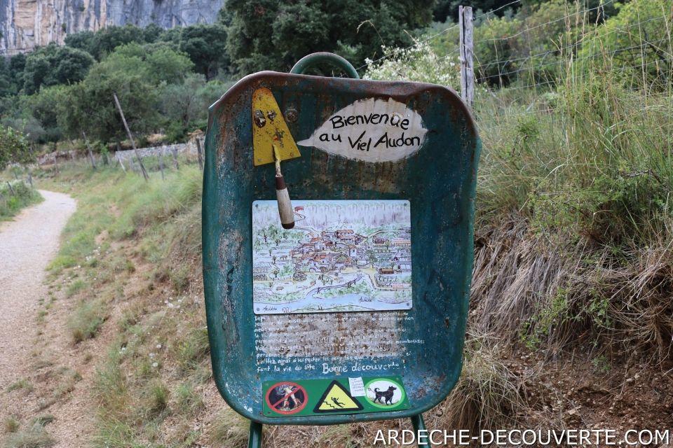 Bienvenue au Viel Audon à Balazuc