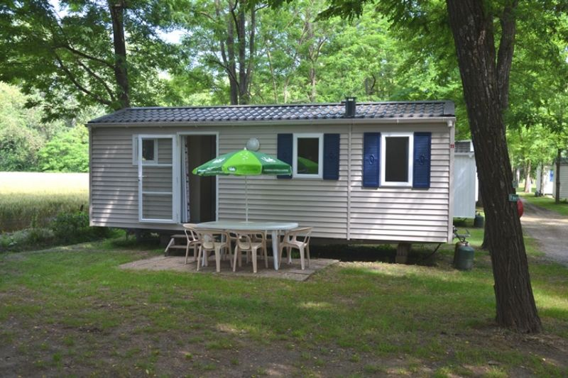 Camping le Chassezac mobil home