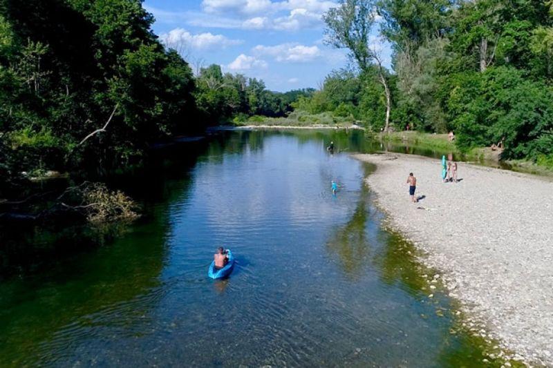 Camping le Chassezac rivière