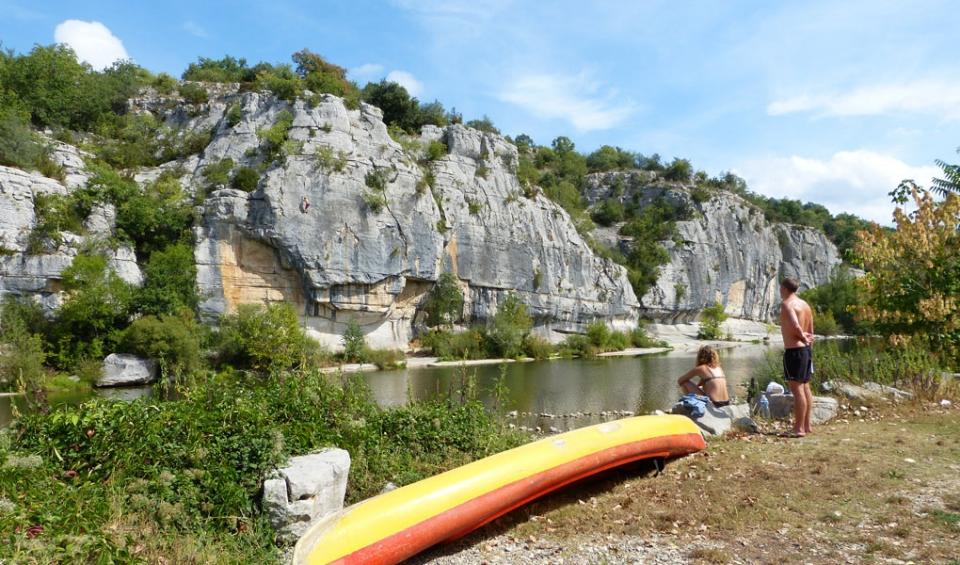 Camping les Blaches, camping avec rivière en Ardeche