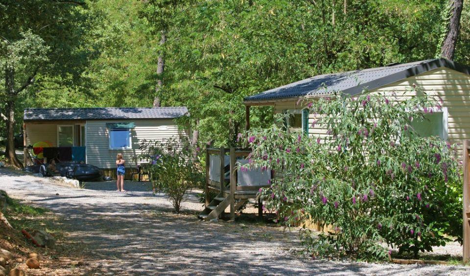 Camping les Blaches en Ardeche