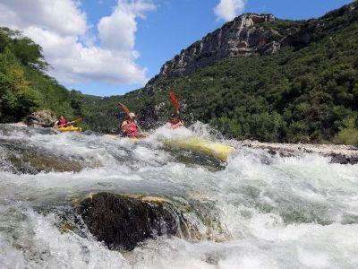 Canoë dans les Gorges de l'Ardèche