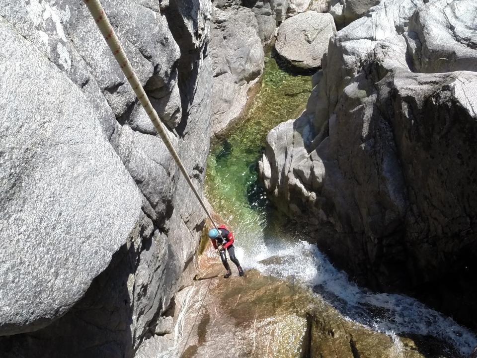 Canyon Fustugère - Canyoning Ardèche Lozère