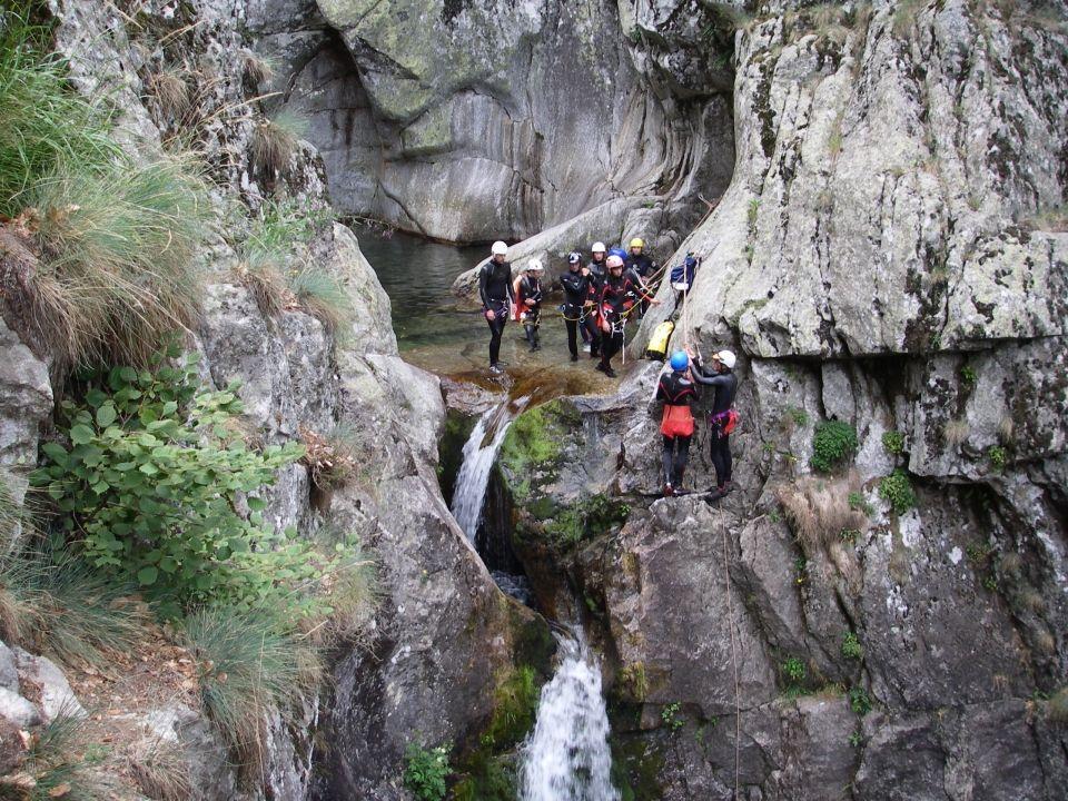 Canyoning Borne