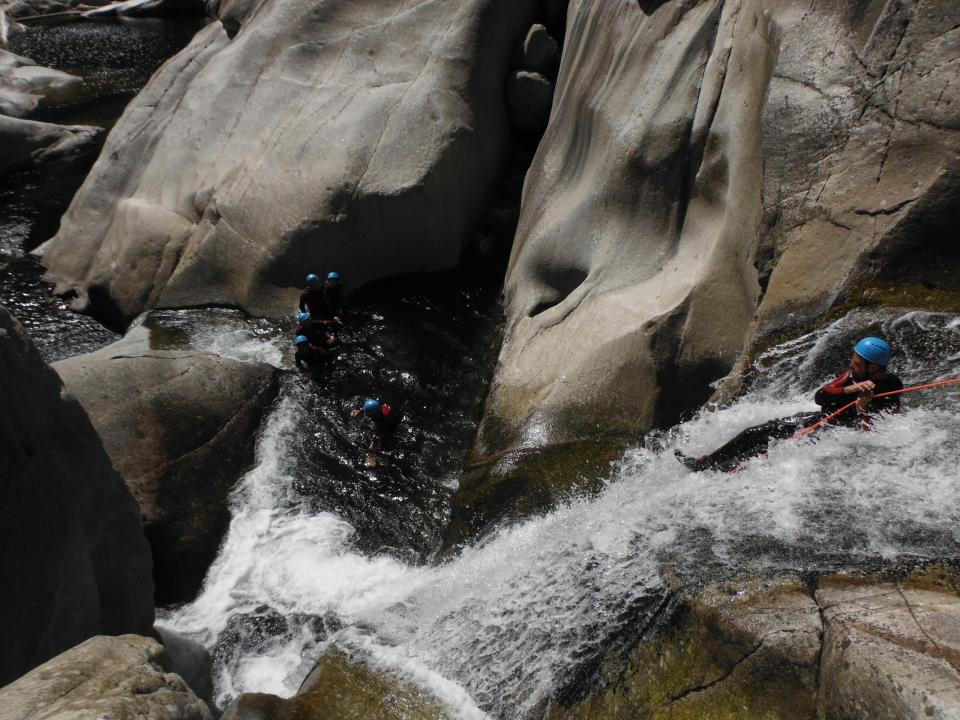 Canyoning entre Ardèche et Lozère, Canyon chassezac