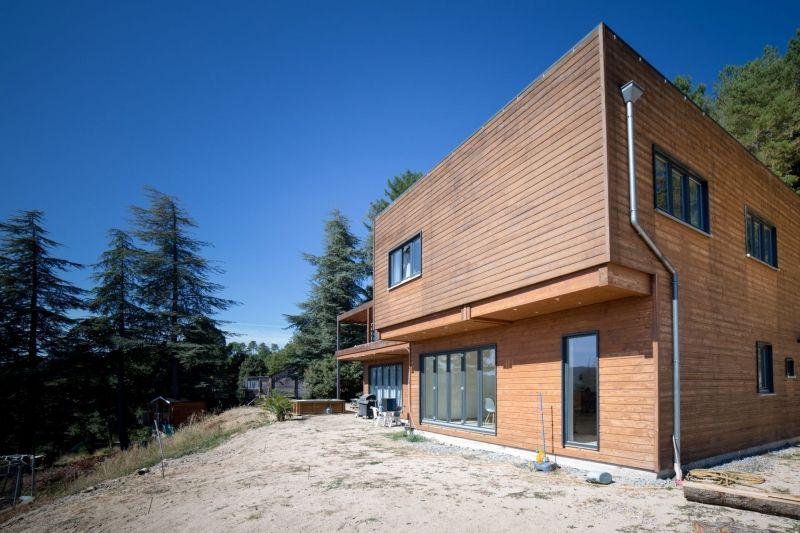 Chambres d'hotes dans maison en bois Ardèche