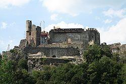 Château de Ventadour en Ardèche
