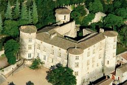 Chateau de Vogüé en Ardèche