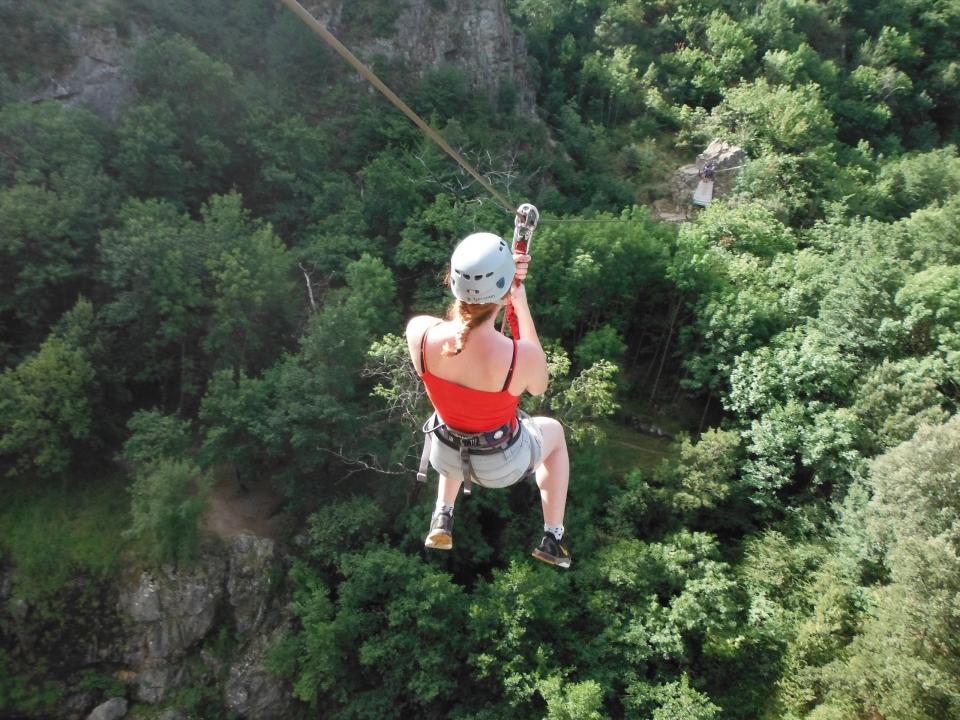 Cimes & Canyons Ardèche - Via Ferrata Pont du diable
