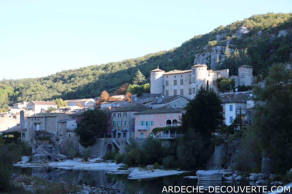 Découvrez le village de Vogüé en Ardèche