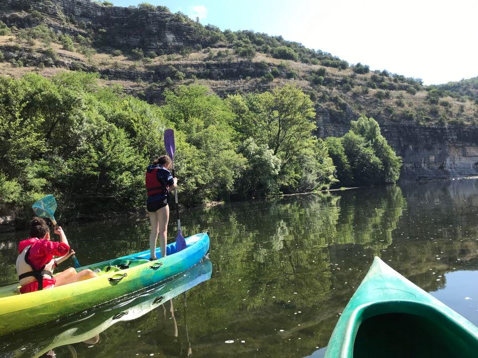 Descente des Gorges de l'Ardèche en canoë avec KayaCorde