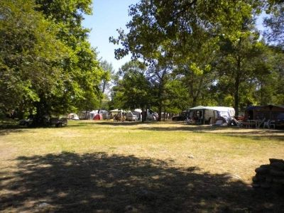 Emplacement de camping