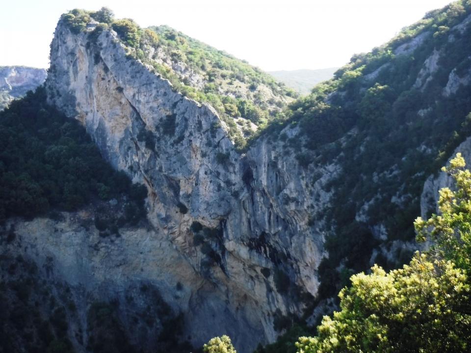 Gorge de l'Ardèche - Canyon sec Pissevieille