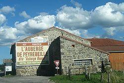 L'Auberge de Peyrebeille en Ardèche
