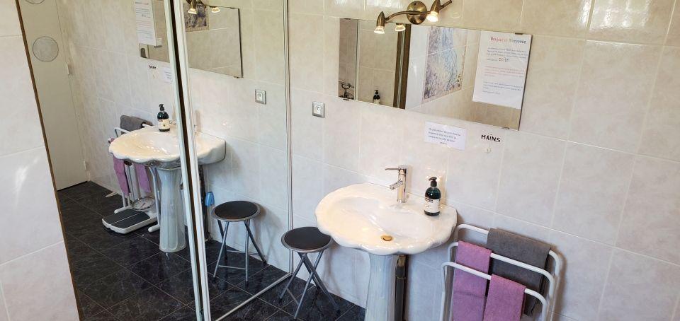 La Maison de Malory - la salle de bain