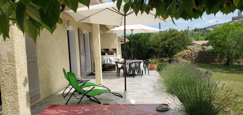 La Maison de Malory - la terrasse