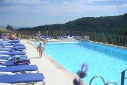 La piscine du Domaine du Vernadel