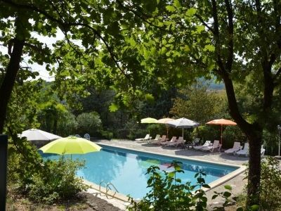 La piscine - Manoir de Champvert