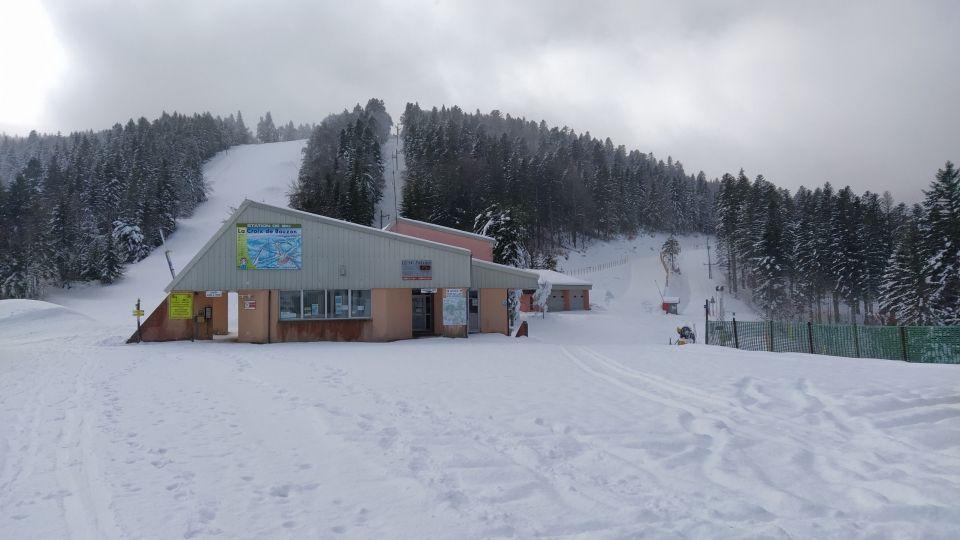 La station de la Croix de Bauzon, station de sports d'hiver en Ardèche
