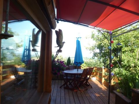 La terrasse la maison de l'ascension