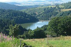 Le Lac de Coucouron en Ardèche
