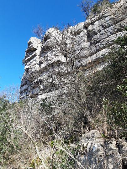 Le site d'escalade