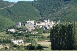Le village de Saint Vincent de Barrès