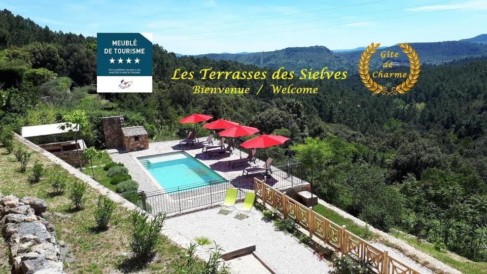 Les Terrasses des Sielves - Votre gite 4**** en Ardèche méridionale