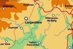 Les villages ardéchois