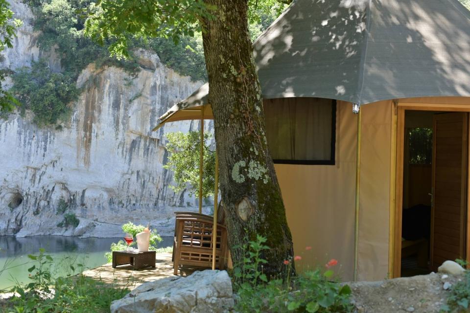 Lodges à Vallon Pont d'Arc