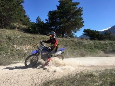 Moto en Ardèche