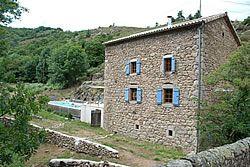 Moulin de Féouzet en Ardèche