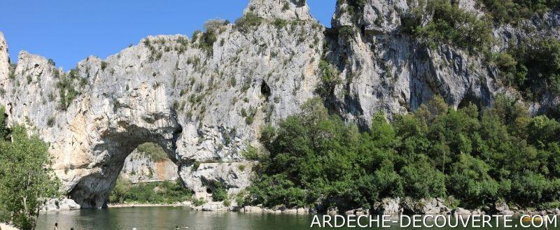 Pont d'Arc en Ardeche - Face Nord