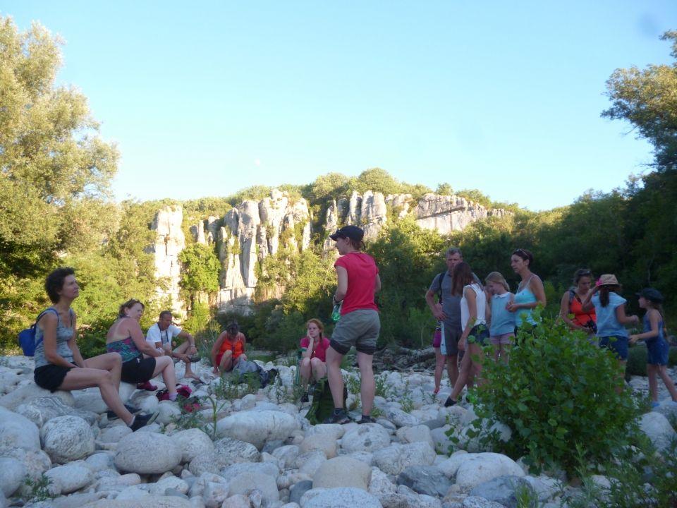 Randonnée guidée en Ardèche