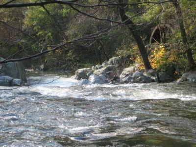 Rivière gîte le gourbet