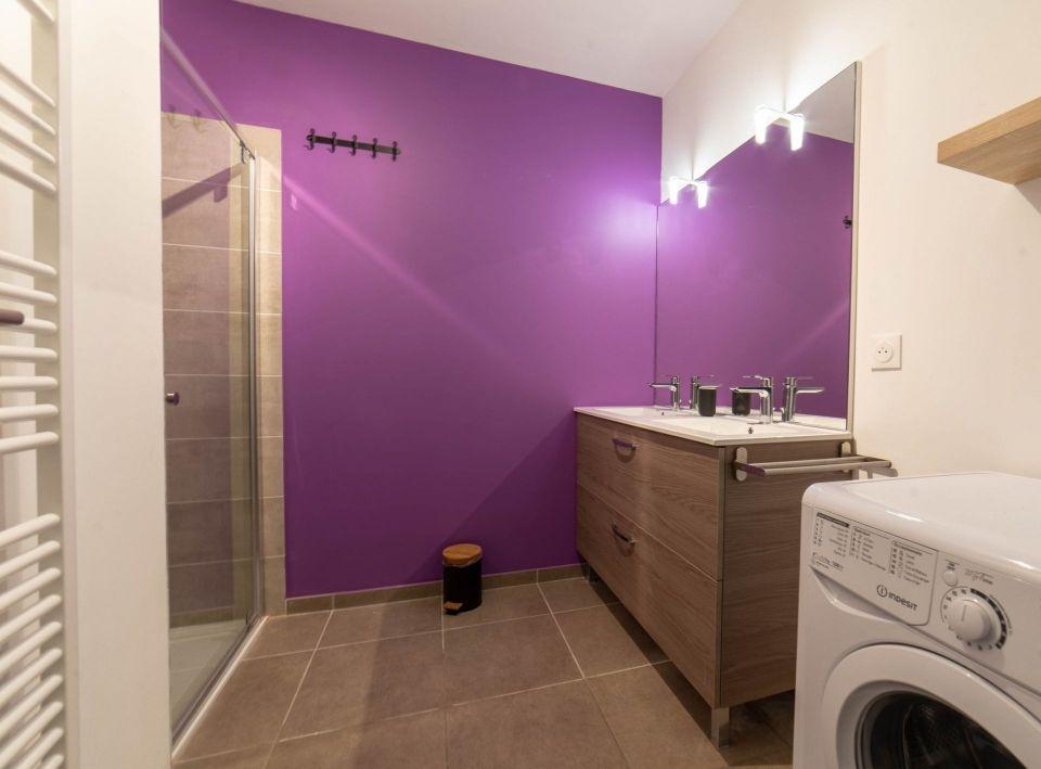 Salle de bain du rez de chaussée
