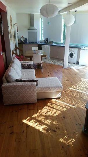 Salon de l'appartement La Rose
