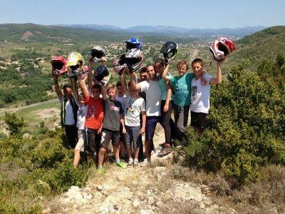 Sortie Quad groupe enfant en Ardèche